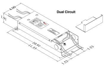 Justin 96XSSD Dual Circuit