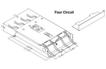 Justin 96XSSD Four Circuit