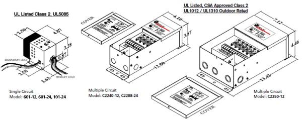 wiring 240 volt ac transformer
